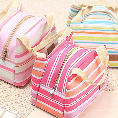 Fashion Insulated Thermal Cooler Lunch Box Carry Travel Picnic Tote Storage Bag