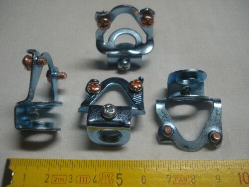 réfA 1 bélière en acier crochet de suspension de lustre à vis terre et blocage