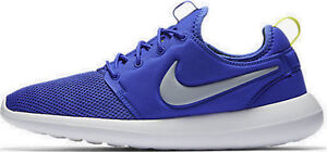 NIKE ROSHE TWO - RUN 2 844656 401 PARAMOUNT BLUE WOLF GREY-WHITE ... 222201bba