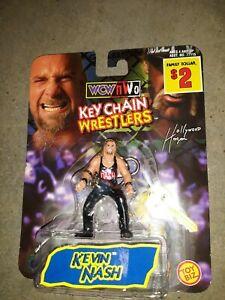 Wcw Kevin Nash Keychain Wrestler