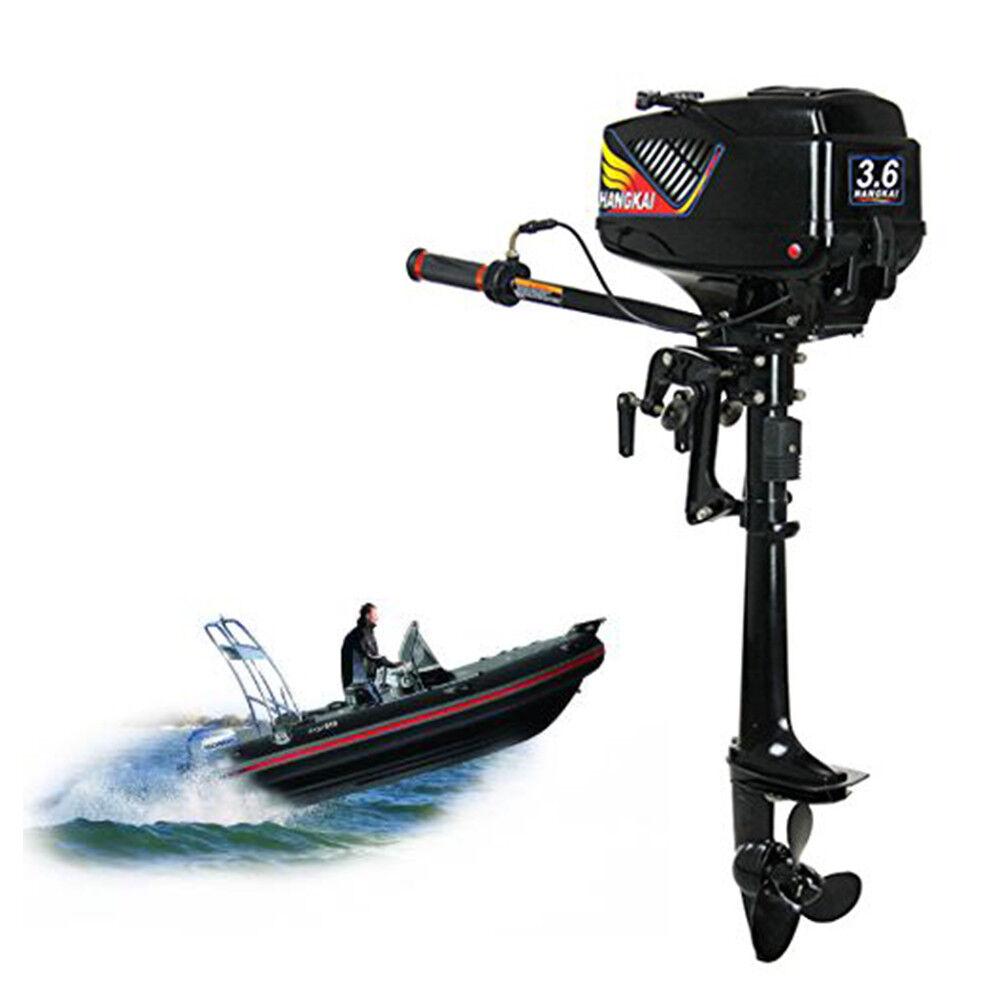 3.6PS Aussenbordmotor Außenborder 2-Takt Zweitakt Aussenbordmotor 3.6PS Benzinmotor Wasserkühlsystem 94da91