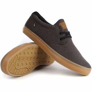 Earth Terra Skate Marrone Schuhe Tela Uomo Gum Shoes Globe Canvas Scarpe Willow 0Z8qwn