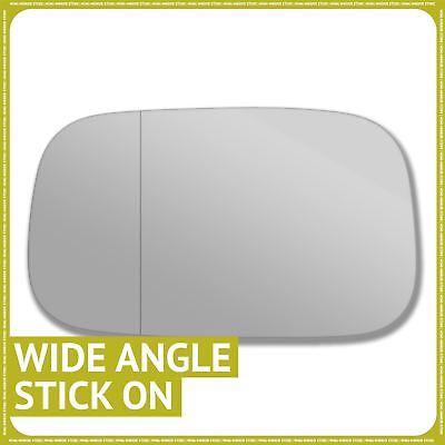 Droit chauffeur off side wide angle aile miroir de verre pour vauxhall corsa d 2006 sur