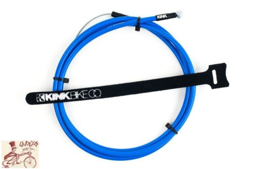 KINK BIKES LINEAR BLUE BICYCLE BRAKE CABLE