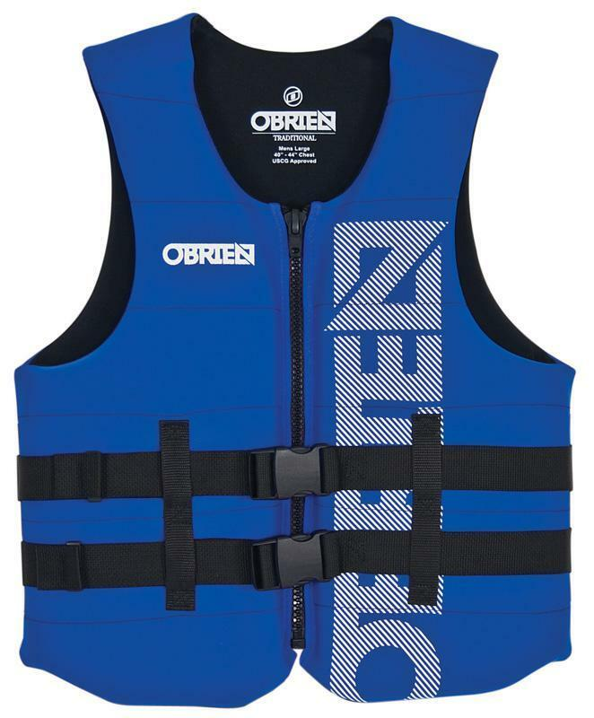 O'Brien Traditional Neo Watersports Buoyancy Aid Impact Vest XS-3XL bluee 56406