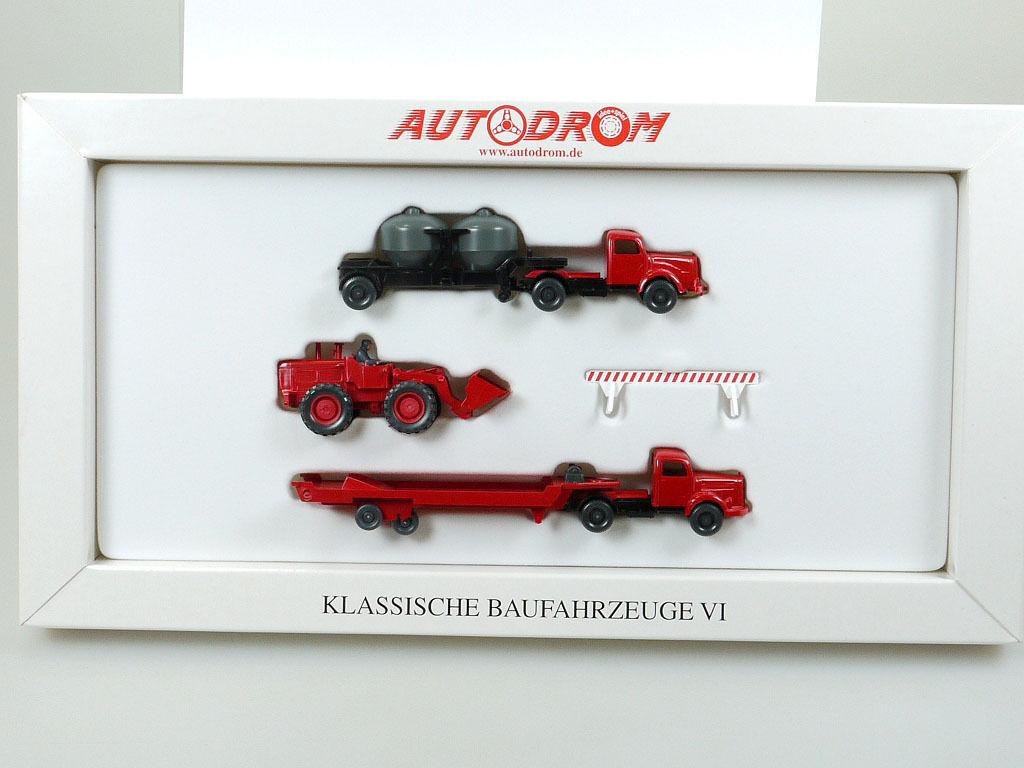 Wiking 990 22 Autodrom Klassische Baufahrzeuge VI Bagger 1 87 OVP SG 1404-16-03