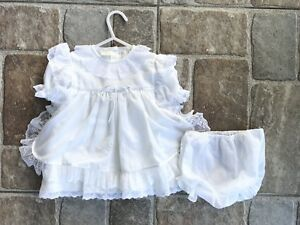 ccf2f7624 Image is loading Baby-Girl-Baptism-Christening-Gown-Party-Formal-Wedding-