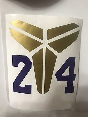Kobe Bryant Logo Vinyl Decal Sticker Ebay