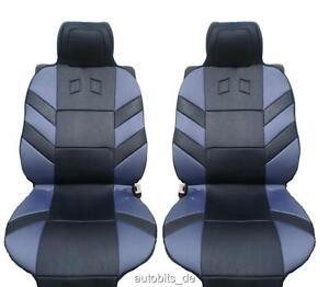 2x-Sitzauflage-Sitzaufleger-Grau-Autositzauflage-Auflage-Autositz-Universal