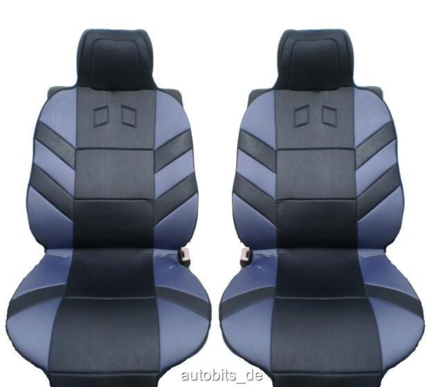 2x Sitzauflage Sitzaufleger Grau Autositzauflage Auflage Autositz Universal