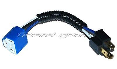 Ceramic H4 Hi Heat Headlight 5.75 Headlamp Light Bulb Wiring Harness Socket Plug