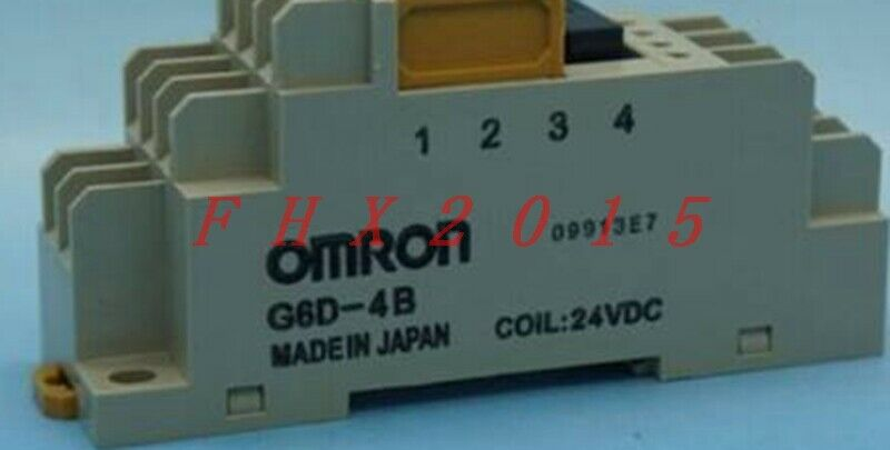 ONE NEW Omron Terminal Relay G6d-4B 24Vdc