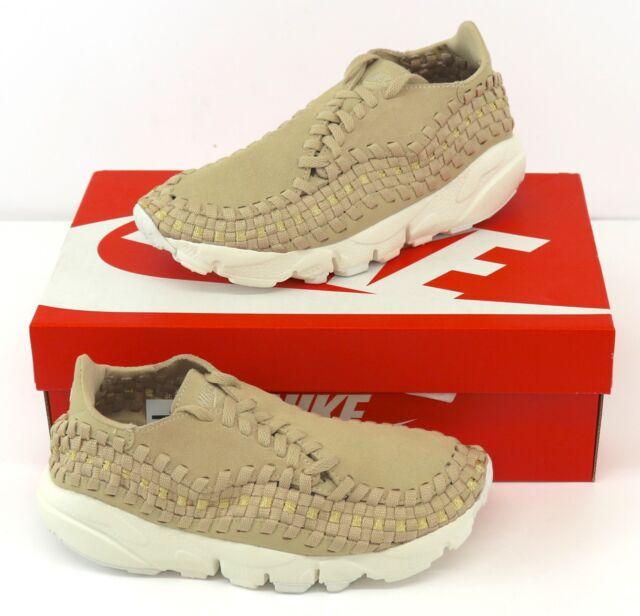 00161e3ae076 Nike WMNS Footscape Woven Mushroom Ivory Women Shoes SNEAKERS 917698 ...