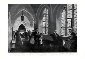 Heiligen-Geist-Hospital-Luebeck-XL-Kunstdruck-1926-Koch-Zeuthen-Altersheim