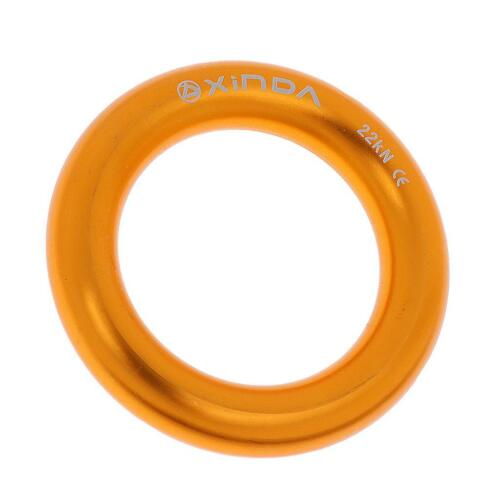 22KN Rappelling Rappel Ring Bail-Outs for Rock Climbing Arborist Rigging Rescue