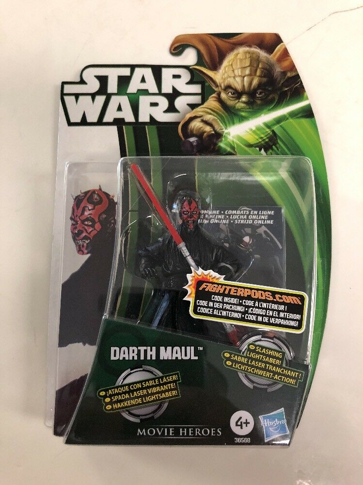Star Wars Darth Maul Movie Heroes Hasbro New Action Figure International