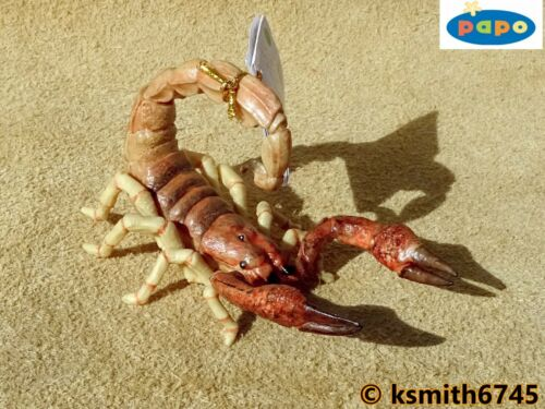 Papo SCORPION solid plastic toy wild animal insect bug arachnid NEW *