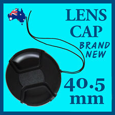 40.5mm High Quality Snap-On Lens Cap Cover For Canon Nikon