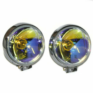 Front-Fog-Spot-Lights-Lamps-E-Marked-60mm-For-MG-Rover-Mini-Cooper
