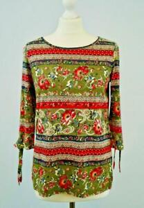 NEW-Monsoon-Olive-Multi-Floral-Jersey-Top-Autumn-Colours-Now-17-50