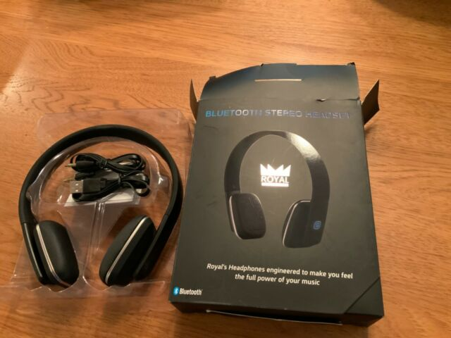 Ght Royal Hqs10 Stereo Bluetooth Headset For Sale Online Ebay