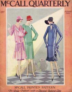 ORIGINAL-Vintage-Autumn-1926-McCall-Quarterly-Sewing-Pattern-Catalog-Magazine
