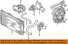 chrysler oem-engine coolant thermostat housing 4663501