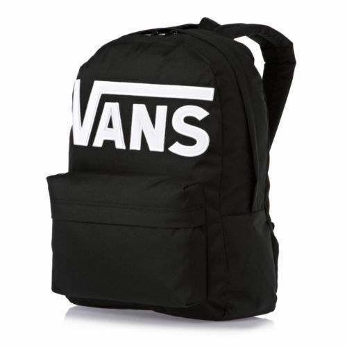 vans rucksack old skool ii schwarz wei g nstig kaufen ebay. Black Bedroom Furniture Sets. Home Design Ideas