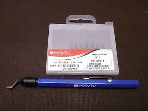 Ebavureur stylo SHAVIV recharge de 7 lames SHAVIV155-29107 - France - État : Neuf: Objet neuf et intact, n'ayant jamais servi, non ouvert, vendu dans son emballage d'origine (lorsqu'il y en a un). L'emballage doit tre le mme que celui de l'objet vendu en magasin, sauf si l'objet a été emballé par le fabricant d - France
