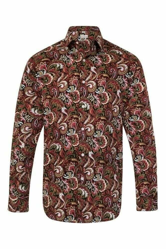 Red Green Paisley