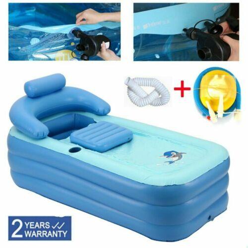 Portable SPA Inflatable Bath Tub Baby Swimming Pool with Air Pump Warm Bathtub