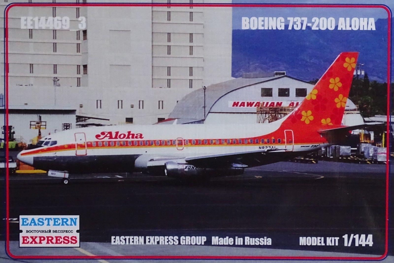 Eastern Express Boeing 737-200 Aloha 1 144 Kit 14469_3 Aircraft Tarpaulin
