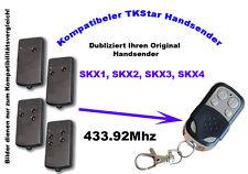 433Mhz Handsender kompatibel zu Tedsen Garagentor SKX1, SKX2, SKX3, SKX4 MD LC