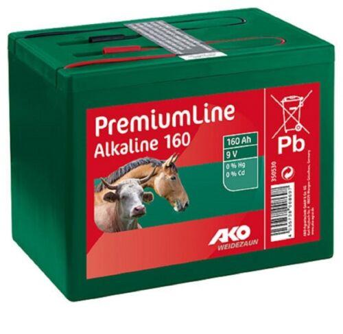 Kerbl 350530 Alkaline 9 Volt 160 AH Trockenbatterie Batterie