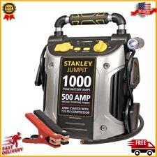 Details about  /500 Amps Jump starter with 120 PSI Air Compressor /& Backlight Gauge