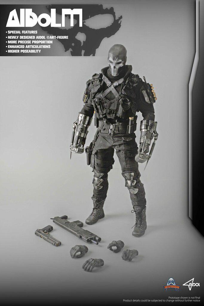 1 6  Crossbones cifra Captain America Civil War giocattoli caliente Art Aidol  sport dello shopping online