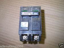 Ge Thql Thql2130 2 Pole 120240v 30 Amp Circuit Breaker Paper Label