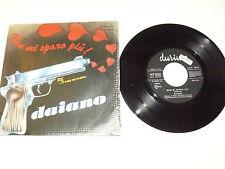 "DAIANO ""NON MI SPARO PIU'"" disco 45 giri DURIUM Italy 1978"
