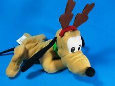 """Disney Mousetoys - Mini Bean Bag Plush - X-Mas Christmas Pluto 9"""""""