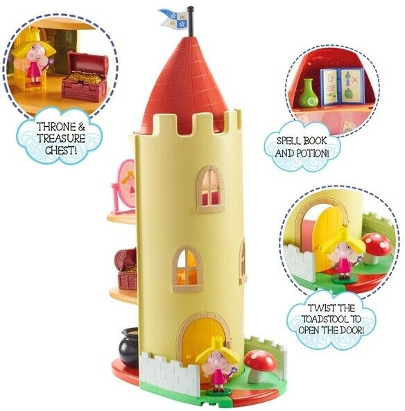 Ben and Holly Little Kingdom Thistle Castle Toy Playset and amp; Accessories