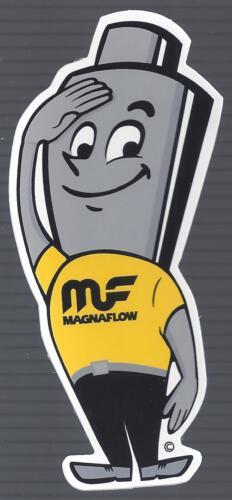 "MAGNAFLOW MAN DECAL RAT ROD TOOL BOX COOLER STICKER 2/"" X 4 1//2/"" IN SIZE"