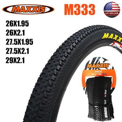 "MAXXIS 26//27.5//29/""*1.95//2.1in 60TPI Tires//Inner Tube Schrader MTB Bike Tyre Tire"