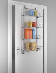 Gut bekannt METALTEX Türregal Tür-Regal zum Einhängen Hängeregal 4 Regalfächer WP78