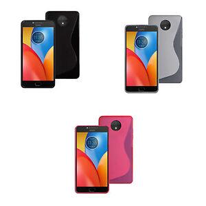 para-Motorola-Moto-E4-Gel-DE-SILICONA-S-LINE-en-varios-colores-FUNDA