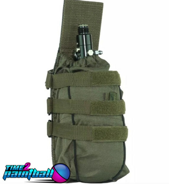 Valken Tactical Paintball Universal MOLLE Tank Holder / Pouch - Olive *Free Ship