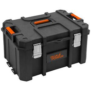 Bevorzugt Werkzeugkoffer Werkzeugkiste leer Kunststoff 52,8 x 37,1 x 28,4 cm MV58