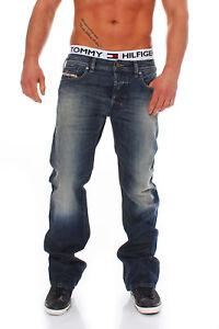 DIESEL-VAQUEROS-Zatiny-Pantalones-de-hombre-Regular-Ligero-Boot-Cut-used-look