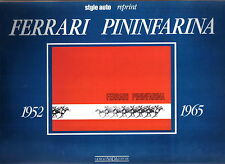 Ferrari Pininfarina 1952-1965 Style Auto Reprint George Nada 1990