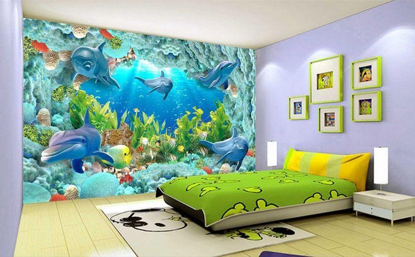 3D tropical fish 1148 Paper Wall Print Decal Wall Wall Murals AJ WALLPAPER GB