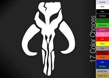 Mythosaur Skull Bantha Vinyl Decal Sticker Boba Fett Mandalorian   17 COLORS!